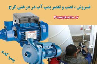 تعمیر پمپ آب در درختی کرج